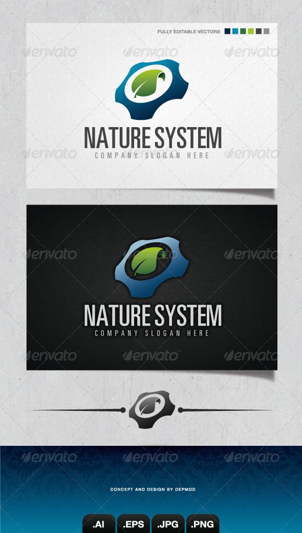 GraphicRiver Nature System Logo 4310990