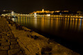 Chain bridge and Castle of Budapest - PhotoDune Item for Sale