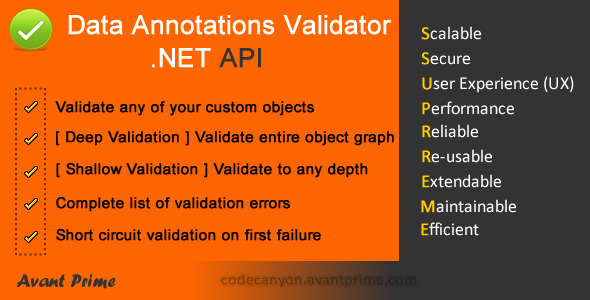CodeCanyon Data Annotations Validator 4311108