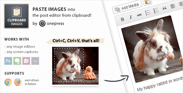 CodeCanyon Clipboard Images by OnePress 4311188