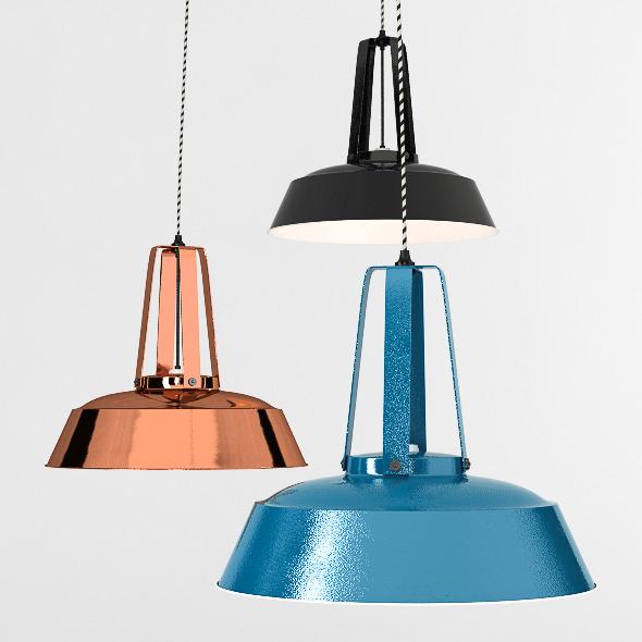 Workshop Lamp - 3DOcean Item for Sale