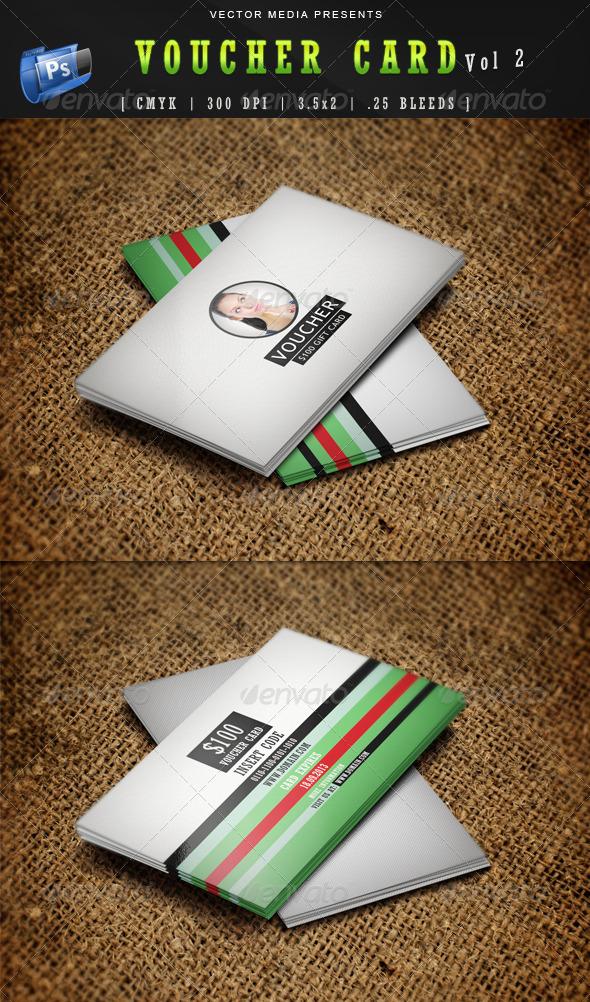 Voucher Card - Vol 2 - Cards & Invites Print Templates