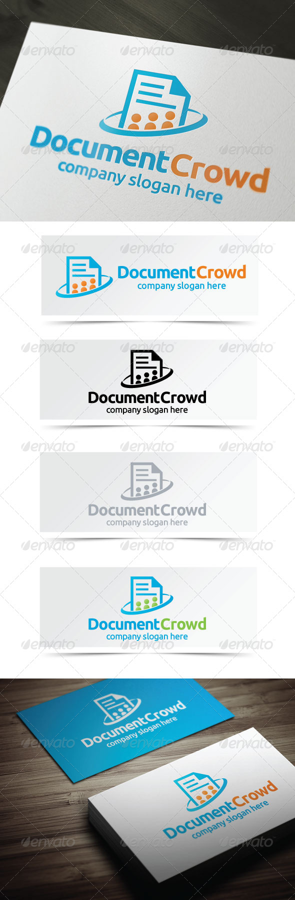 GraphicRiver Document Crowd 4311472