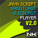 PHP-Javascript Shoutcast and Icecast V2.0