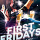 First  Fridays Flyer Template - GraphicRiver Item for Sale