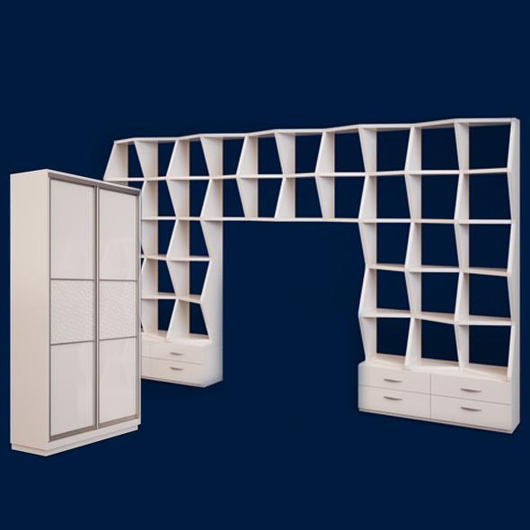 Wardrobe - 3DOcean Item for Sale