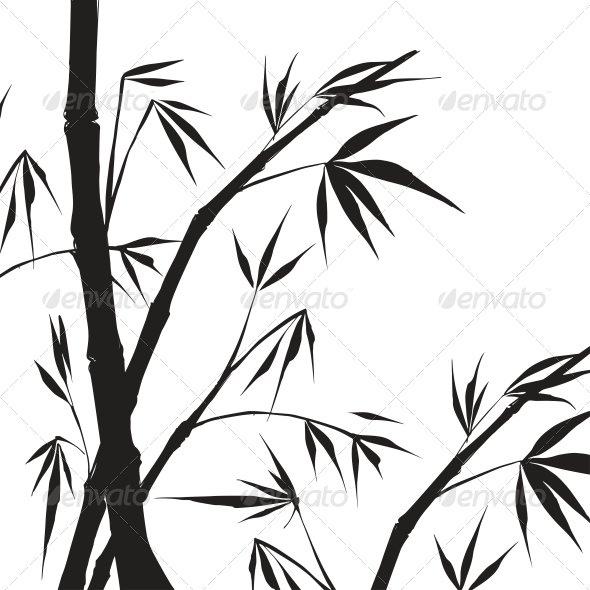 GraphicRiver Bamboo Isolated Illustration 4311756