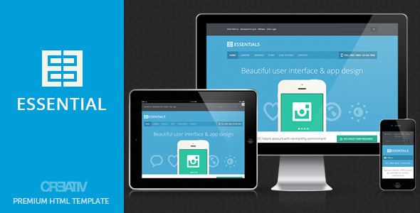 Business Essentials HTML - Corporate Site Templates