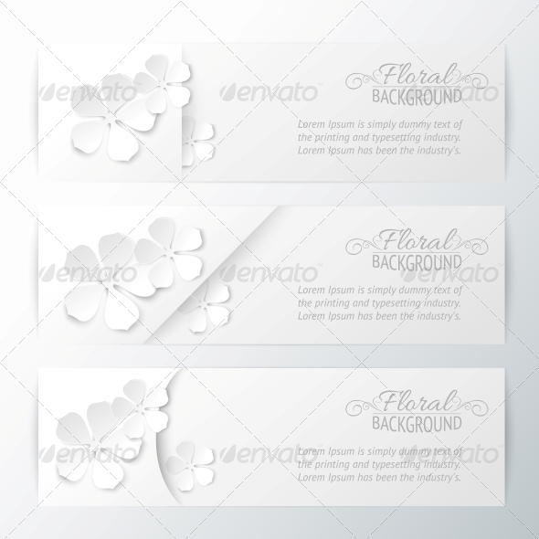 GraphicRiver Set of Three Banners 4311831