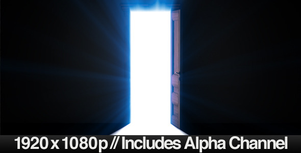 Doorway Opening for Opportunity & ALPHA Channel