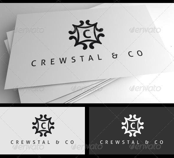 GraphicRiver Crewstal Logo 4216530