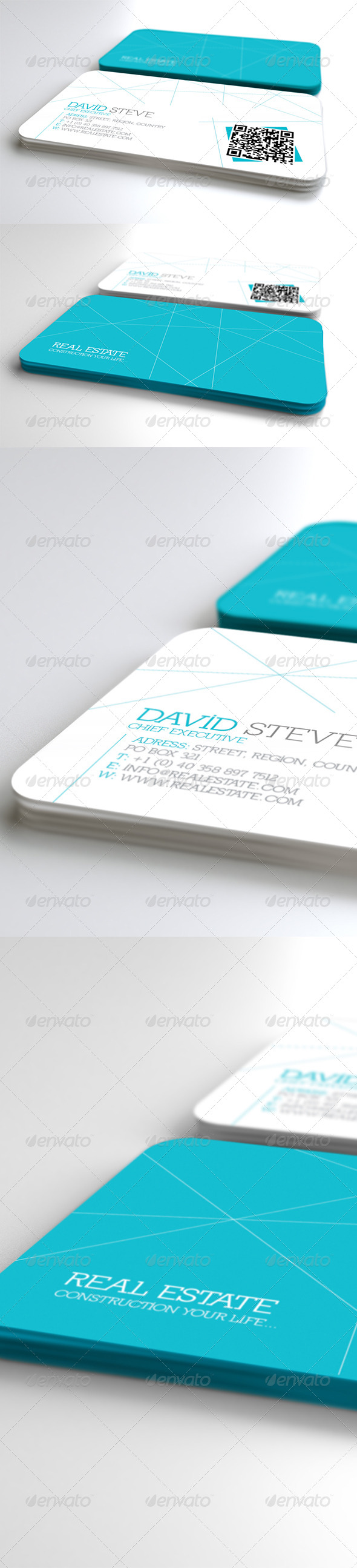 GraphicRiver Geometric Business Card 4168732