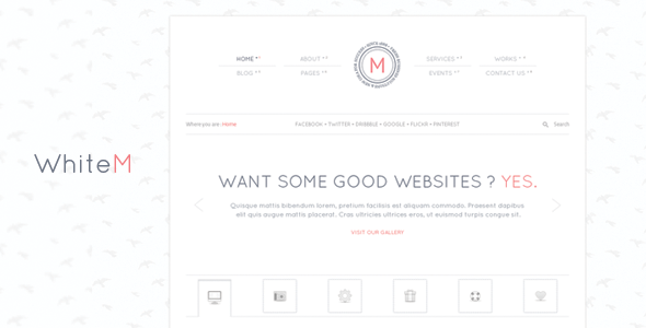 ThemeForest WhiteM 4281190