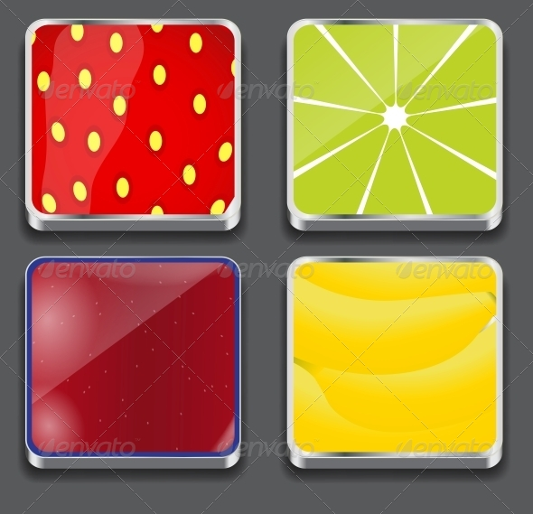 GraphicRiver Vector Illustration of Apps Icon Set 4312824