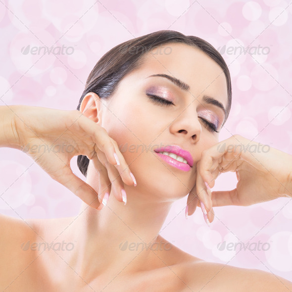 Sensuality of pink beauty - Stock Photo - Images
