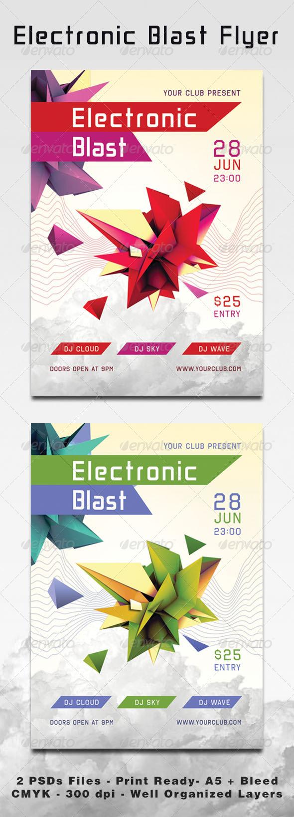 GraphicRiver Electronic Blast 4079778