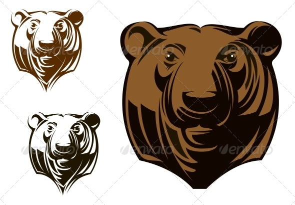 GraphicRiver Big Grizzly Bear 4313397