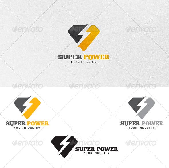 GraphicRiver Super Power Logo Template 4230317