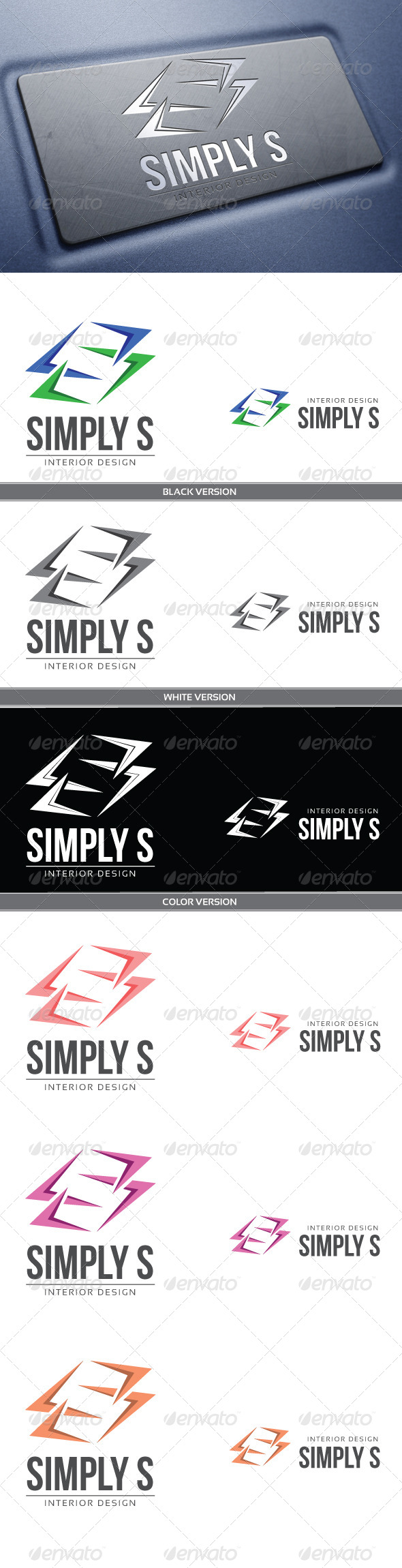 GraphicRiver Simply S 4232223
