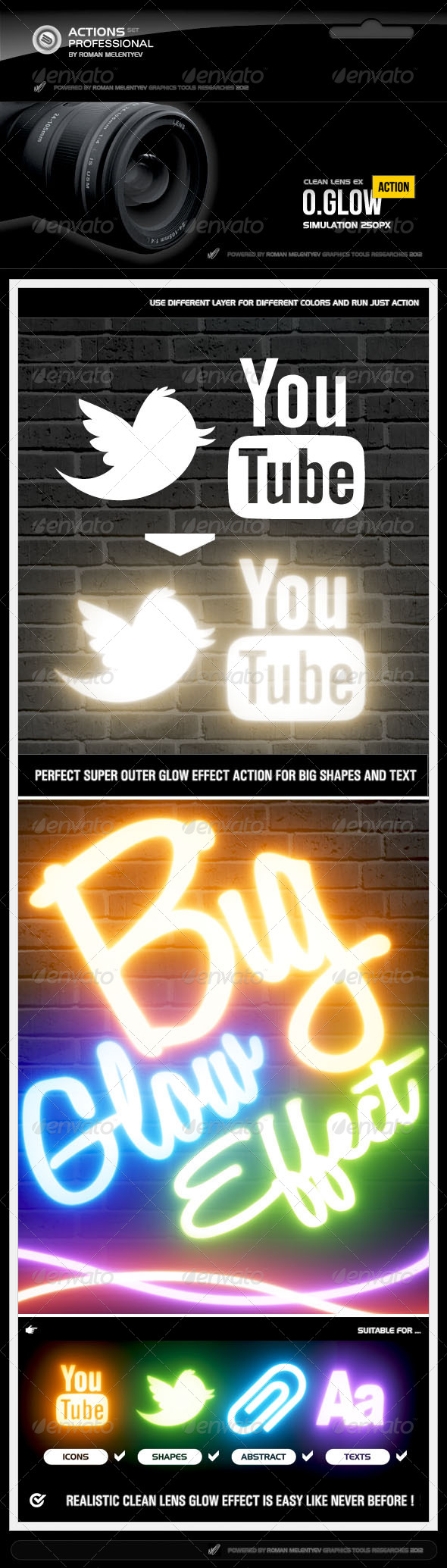 GraphicRiver O Glow Pro Action 4316687