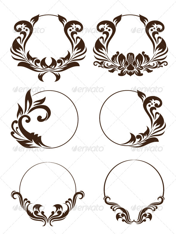 GraphicRiver Circle Ornament Set 4316854