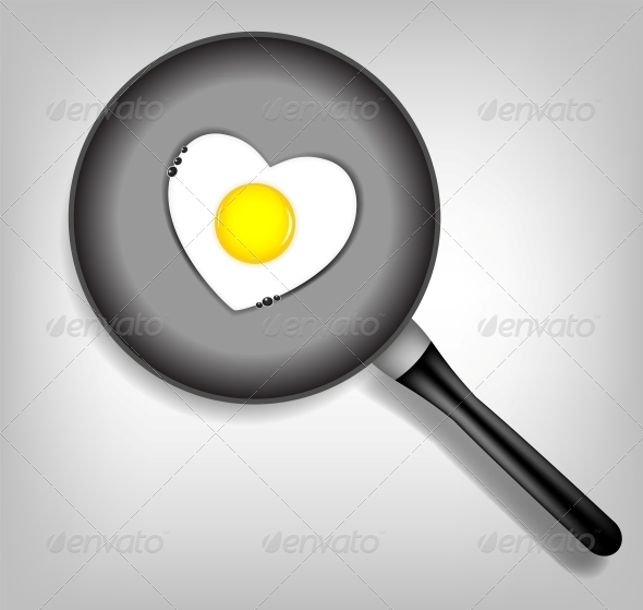 GraphicRiver Fried Eggs Vector Illustration 4317114