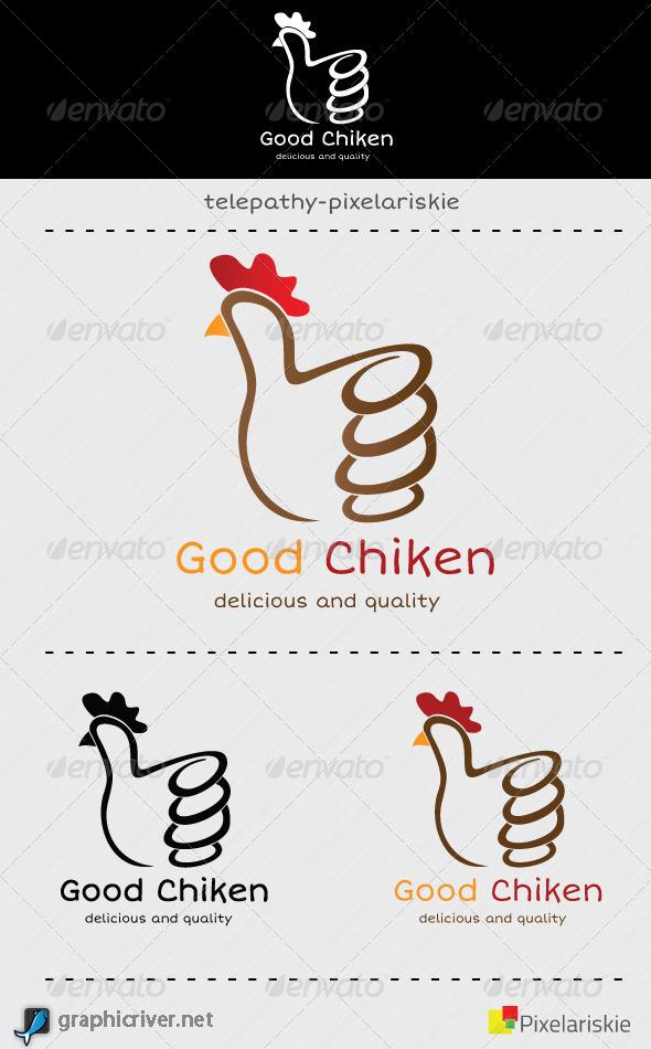 GraphicRiver Good Chiken Logo 4317435