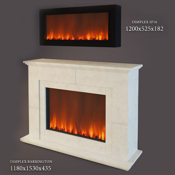 3DOcean Electric Fireplace Dimplex 4318201