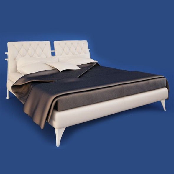 Bed - 3DOcean Item for Sale