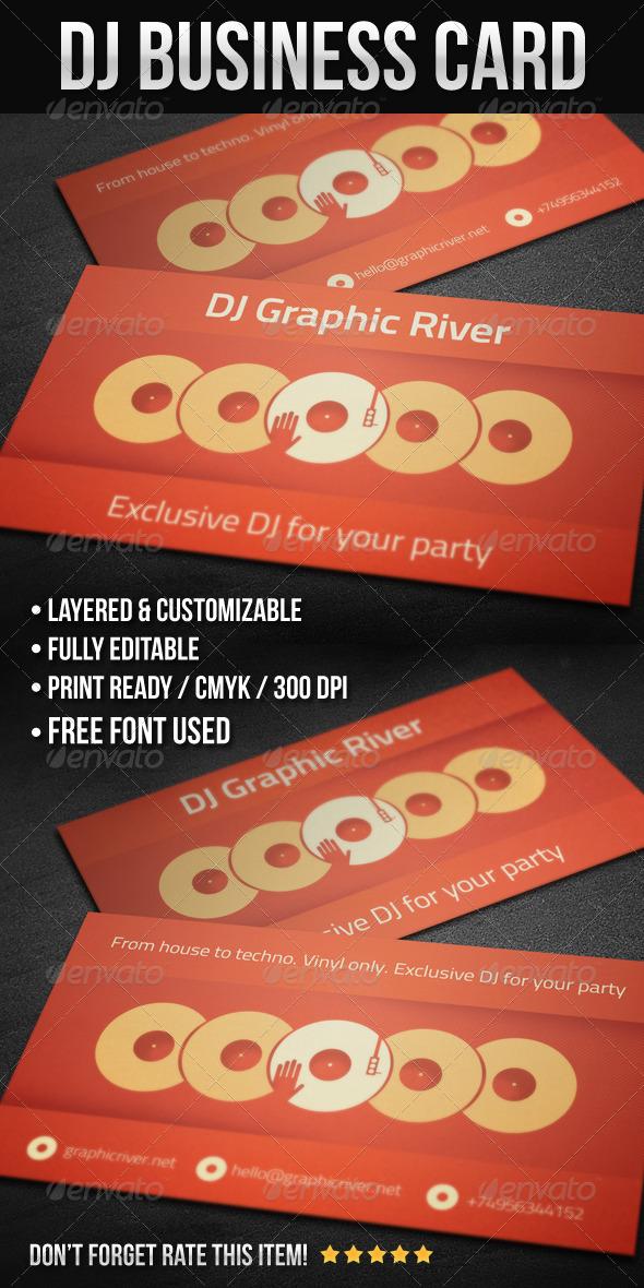 GraphicRiver DJ Business Card 02 4149443