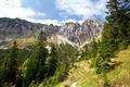 Bavarian Alps in summer