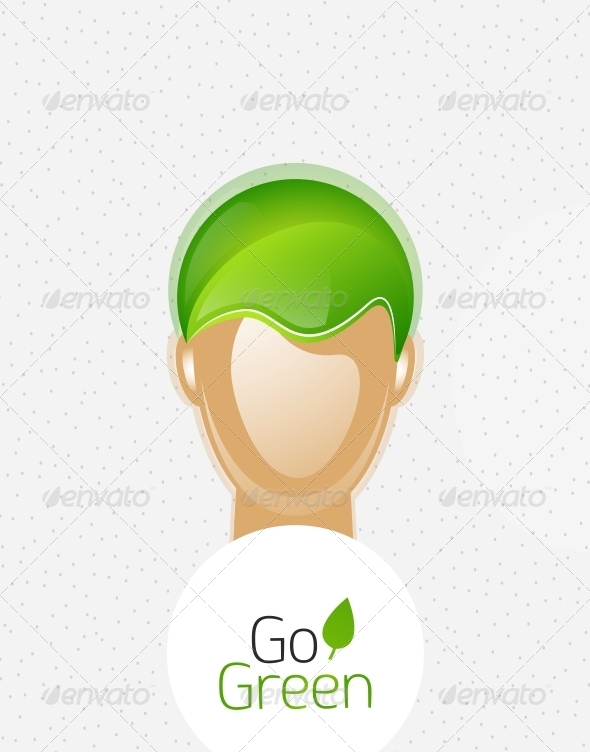 GraphicRiver Eco Green Man 4318996