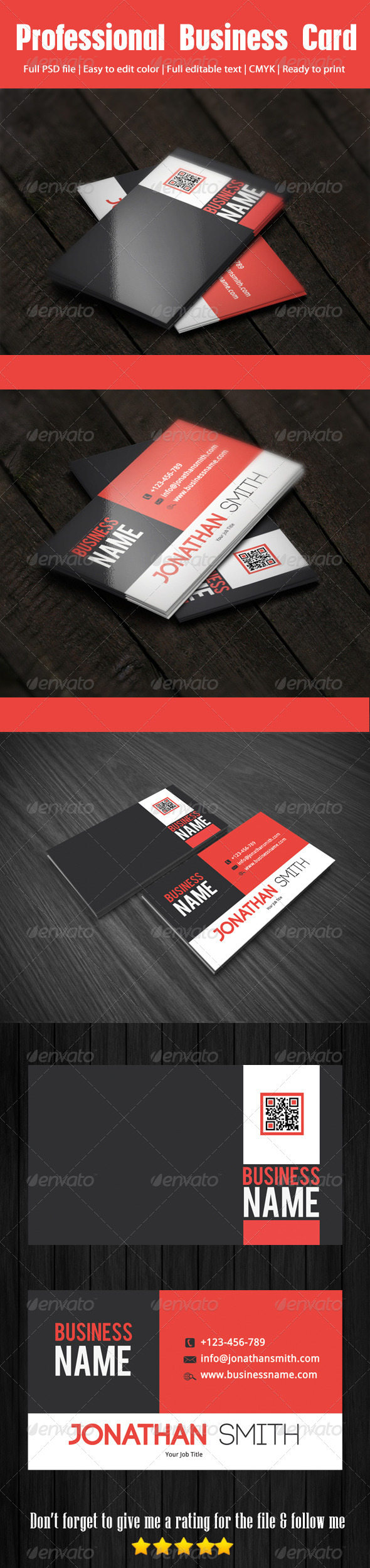 GraphicRiver Professional Business Card 4166854