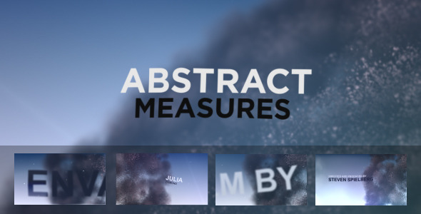 Abstract Measures