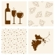 Winery Design Objects Set