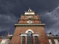 Independence Hall with Dark Storm Sky - PhotoDune Item for Sale