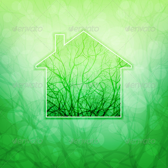 GraphicRiver Ecological House 4320554