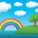 Rainbow Landscape - GraphicRiver Item for Sale