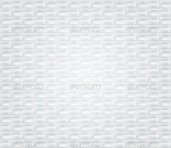 GraphicRiver White Brick Wall 4320584