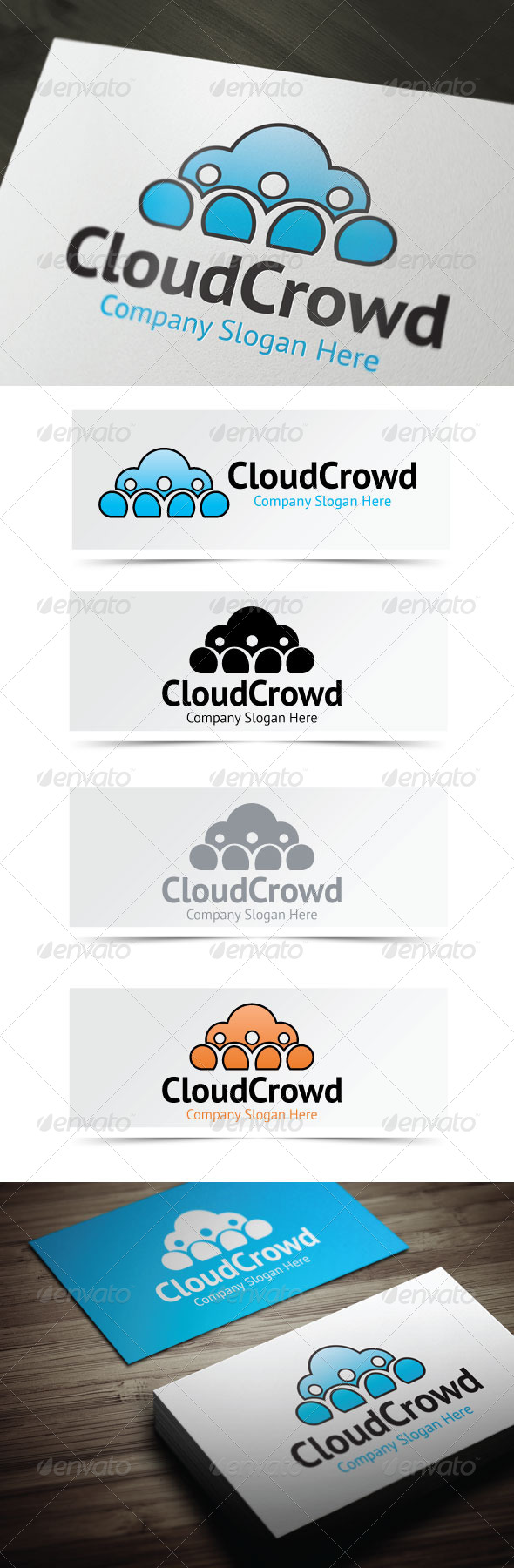 GraphicRiver Cloud Crowd 4226128