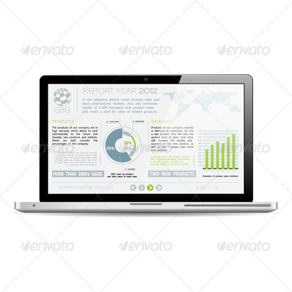 GraphicRiver Company Year Report 4320804
