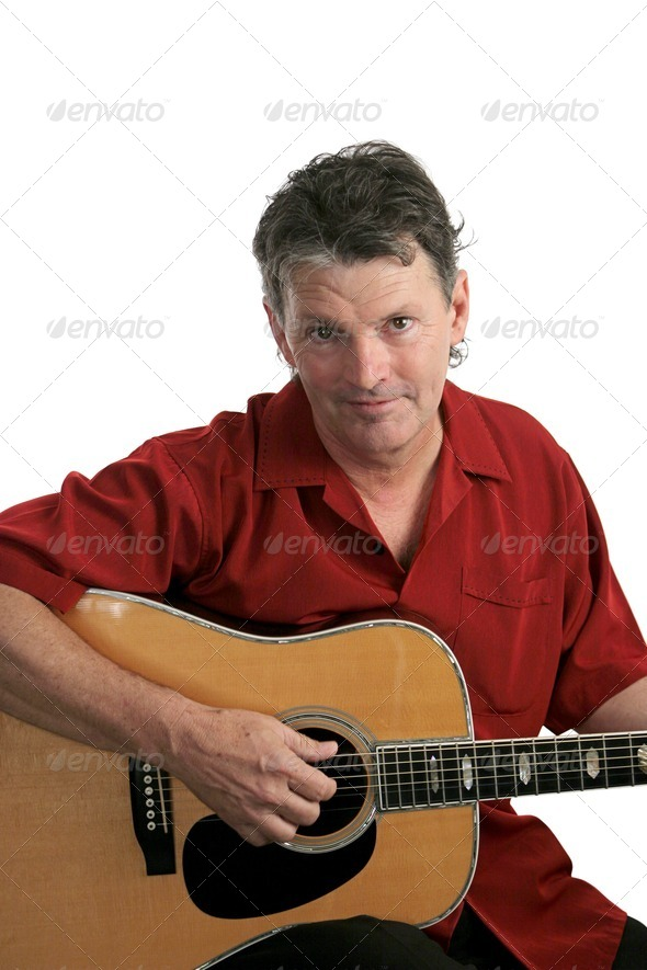 Sexy Mature Rocker - Stock Photo - Images