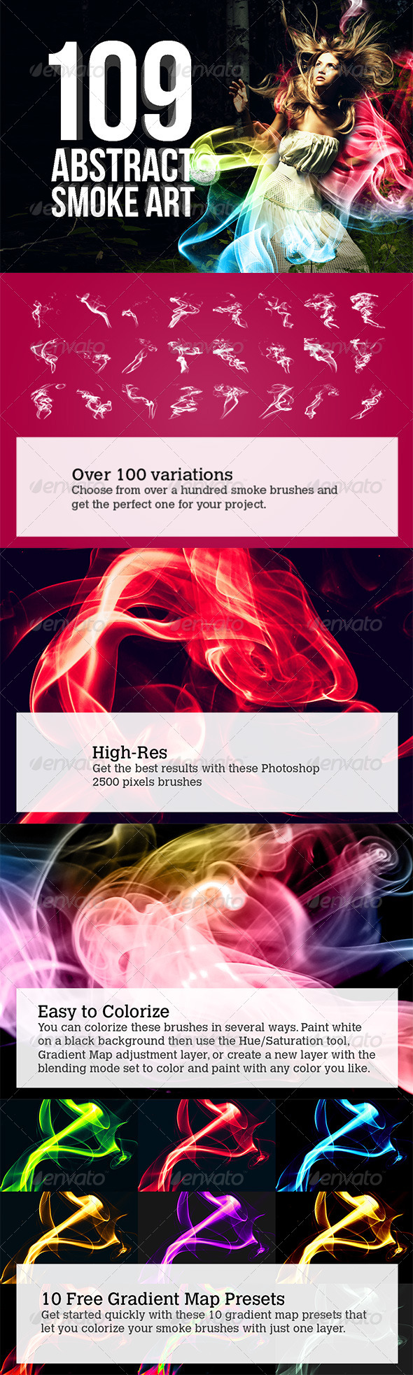 GraphicRiver 109 Abstract Smoke Art 4321742