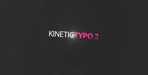 Kinetic Typo 2