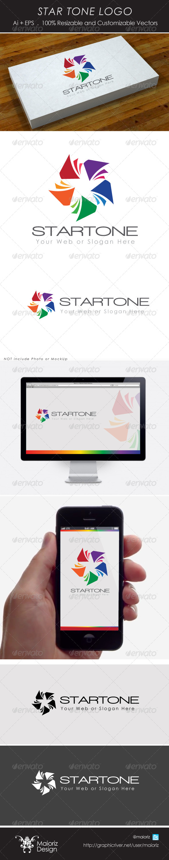 GraphicRiver Star Tone Logotype 4321836