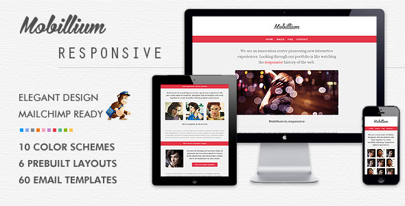 All themes in One: Download Mobillium   Responsive Email Newsletter