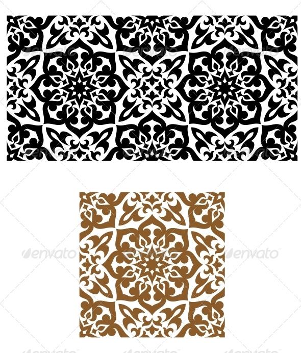 GraphicRiver Seamless Ornament Retro Style 4322544