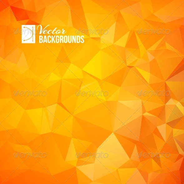 GraphicRiver Orange Triangle 4323862