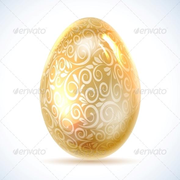 GraphicRiver Golden Egg 4323941