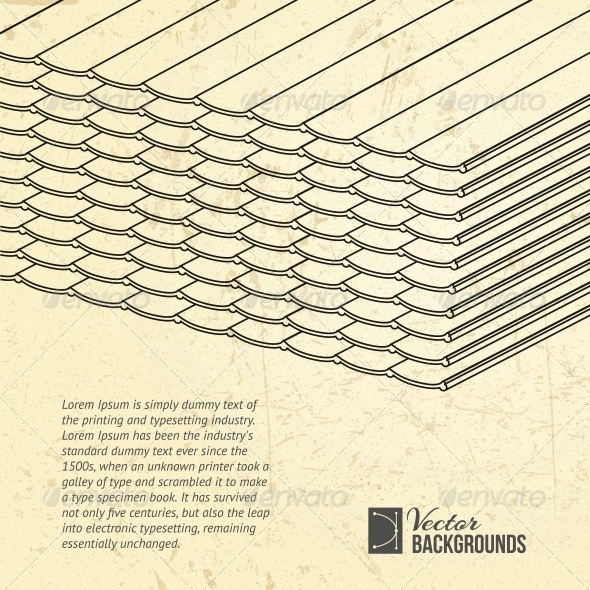 GraphicRiver Pile of Roofing Tiles Packaged 4323988
